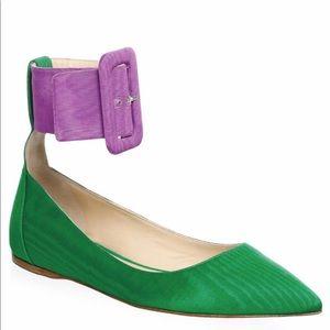 Attico Colorblock Ballet Flats Size 7US MSRP $735